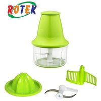 Rotek 3 in One Quick Chef Cutter Chopper, Whisker Juicer