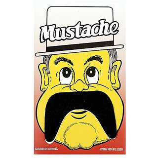 Funcart Single Stick On Moustache Design 5