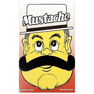 Funcart Single Stick On Moustache Design 4