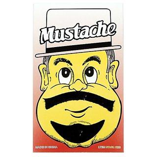 Funcart Single Stick On Moustache With Beard Design 4