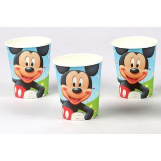 Funcart Mickey Mouse Theme 9oz paper cup (6 pcs/pack)