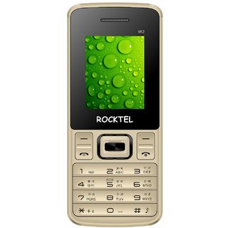 Rocktel W2 800mAh Battery DUAL SIM 1.8 Screen Camera Bluetooth Wireless FM MULTI Language Mobile Phone