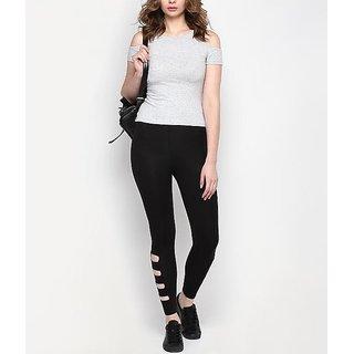 Black Railey  High Waist  Stretchable Legging / Jegging / Yoga Wear / Gym Wear /Jogging Wear
