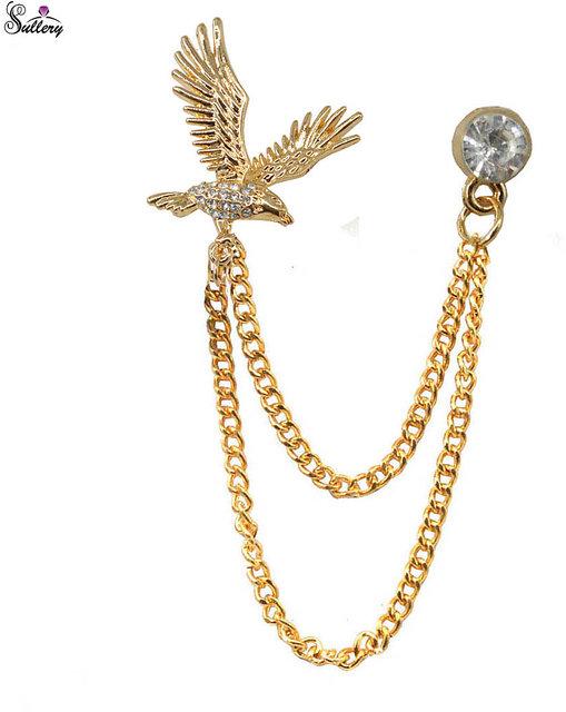 79f993362 Buy Men Style Men's Flying Eagle Brooch Party Formal Suits Lapel Pins Brooch  For Men Online - Get 68% Off