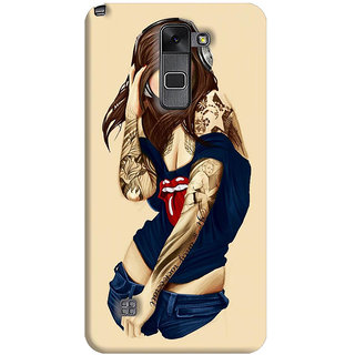 FurnishFantasy Back Cover for LG Stylus 2 - Design ID - 0411