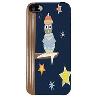 Snoogg Christmas Snow 2468 Case Cover For Apple Iphone 5C
