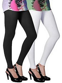 Juliet Combo of 2 Multi-color cotton leggings (2L-5)
