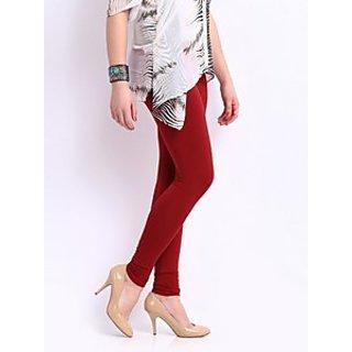 Juliets Cotton Red Leggings