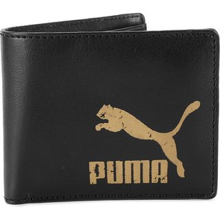 Puma Men Black Tyvek Wallet