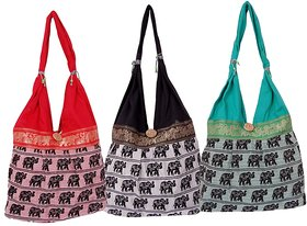 Fashion Bizz Beautiful  Rajasthani  Shoulder Bags Hand