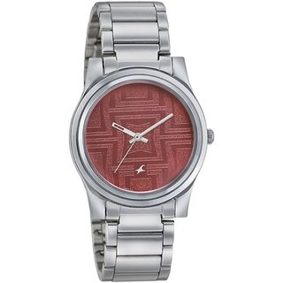 Fastrack Analog Watch For Women-6046sm02
