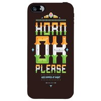 Snoogg Horn Ok Please 2744 Case Cover For Apple Iphone 5C