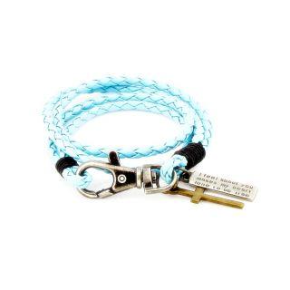 Wrist Band Blue Cross Dj Jsmfhwb0002