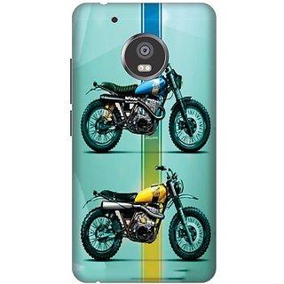 Printland Back Cover For Moto G5