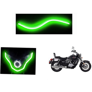 Himmlisch  Flexible 30cm Bike Headlight Neon LED DRL Tube GREEN For UM Renegade Classic