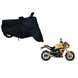 Himmlisch Premium Black Bike Body Cover For Mahindra Mojo