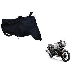 Himmlisch Shield Premium  Black Bike Body Cover For TVS Apache RTR 180
