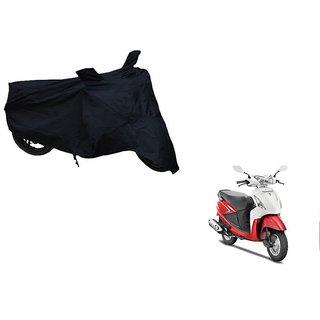 Himmlisch Shield Premium  Black Bike Body Cover For Hero Pleasure