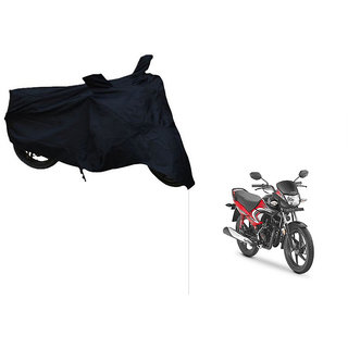 Himmlisch Shield Premium  Black Bike Body Cover For Honda Dream Yuga