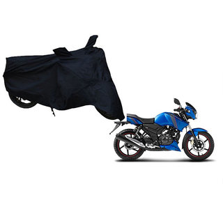 Himmlisch Shield Premium  Black Bike Body Cover For TVS Apache RTR 180 ABS