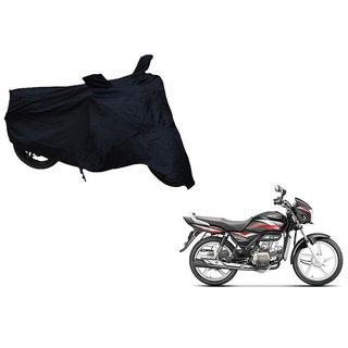 Himmlisch Shield Premium  Black Bike Body Cover For Hero Splendor Plus i3s