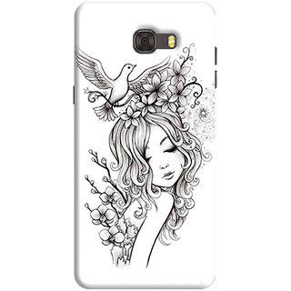 FurnishFantasy Back Cover for Samsung Galaxy C7 - Design ID - 1082