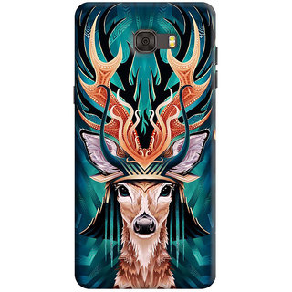 FurnishFantasy Back Cover for Samsung Galaxy C7 - Design ID - 1114