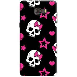 FurnishFantasy Back Cover for Samsung Galaxy C7 - Design ID - 1153