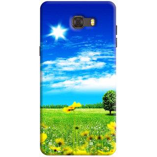 FurnishFantasy Back Cover for Samsung Galaxy C7 - Design ID - 1191