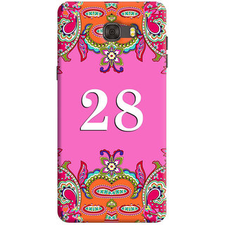 FurnishFantasy Back Cover for Samsung Galaxy C7 - Design ID - 1386
