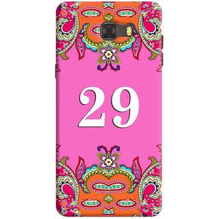 FurnishFantasy Back Cover for Samsung Galaxy C7 - Design ID - 1387