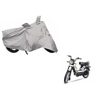Buy Himmlisch Shield Premium Silver Bike Body Cover For Tvs Xl 100