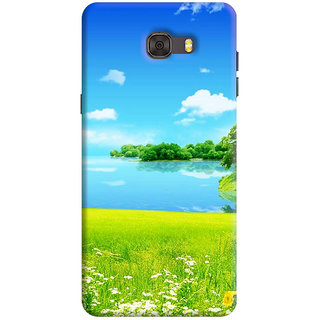 FurnishFantasy Back Cover for Samsung Galaxy C7 Pro - Design ID - 1223
