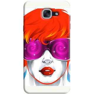 FurnishFantasy Back Cover for Samsung Galaxy On Max - Design ID - 0740