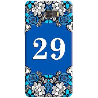 FurnishFantasy Back Cover for Samsung Galaxy C7 Pro - Design ID - 1418