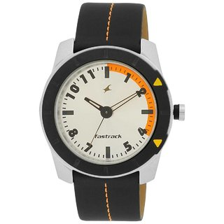 Fastrack Round Analog Watch For Men-3015al01