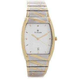 Titan Rectangle Analog Watch For Men-NE9315BM01A