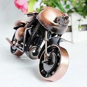 Jaycoknit Bike Man's Real Look Bike Antique Collectible Metal Showpiece