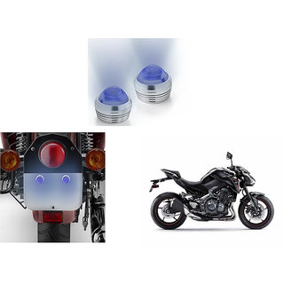 Autonity Bike Blue  LED Projector Strobe Brake Lights Set Of 2  For Kawasaki Z900