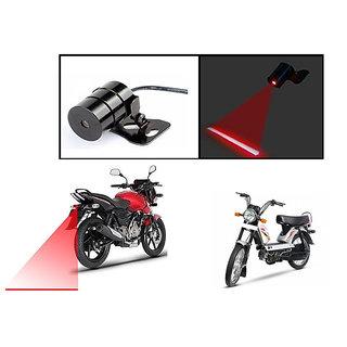Buy Autonity Bike Rear Laser Safety Line Fog Light Red For Tvs Xl