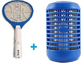 Set of Onlite Brandad Mosquito Killer bat and Electronic Mosquito N Insect Killer Cum Night Lamp