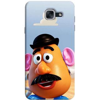 FurnishFantasy Back Cover for Samsung Galaxy J7 Max - Design ID - 0813
