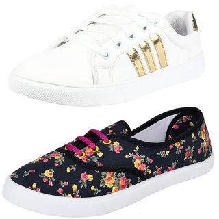 Bersache Women Combo Pack of 2 Casual Sneaker shoe