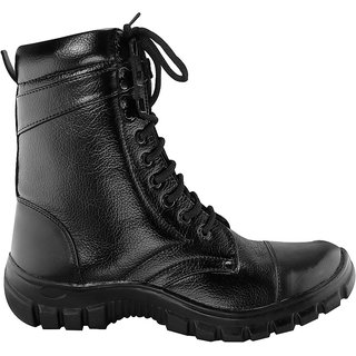 Buy Blinder Black Indian Army Military Boots for Men Online - Get 64% Off cc8c90a9a9c