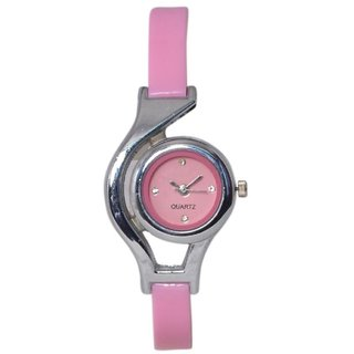 Shree Glory Women Stylish colorful Attractive Pink watch For Grils and Ladies 6 month warranty