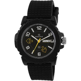 Maxima Fiber Collection 27281Ppgw Men Analog Watch