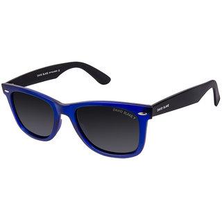 David Blake Grey Wayfarer Polarized & UV Protected Sunglass