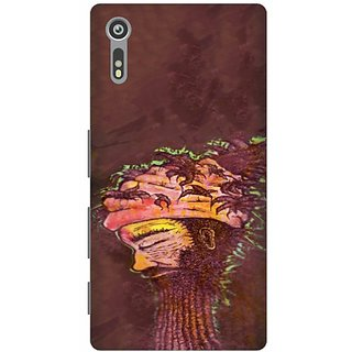 Printland Back Cover For Sony Xperia XZ