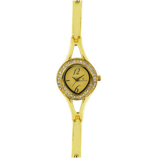 Maxima Gold Collection 24381Bmly Women Analog Watch