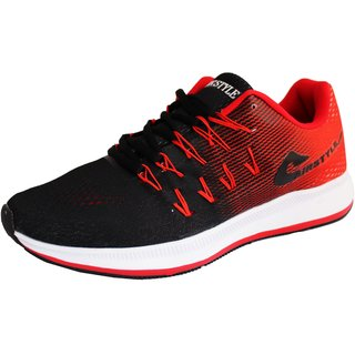3ddce31a695e Buy Max Air Sports Shoes 8852 black red Online - Get 61% Off